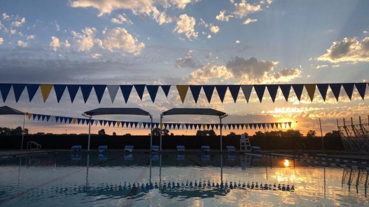 TR pool sunrise